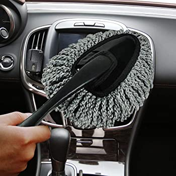 Car Duster Car Duster Car Dashboard Cleaner XGao Car Interior Cleaner Super Soft Auto Dashboard Car Duster Polishing Washing Sponge Cleaning Pad Brush Car Duster Exterior