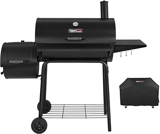 Royal Gourmet CC1830SC Charcoal Grill Offset Smoker - Best Space Capacity