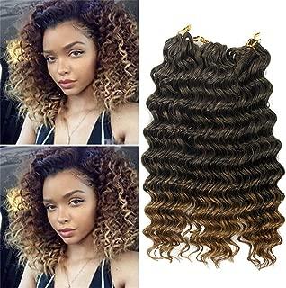 Best ombre deep wave crochet hair Reviews