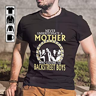Mom Backstreet Boys T-Shirt Long Sleeve Sweatshirt Hoodie for Men and Women