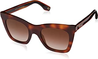 Marc Jacobs Wayfarer Sunglasses For Unisex - Brown Lens, One Size (279-S Brown)