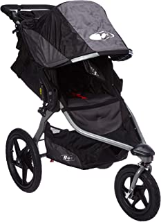 featured product BOB Revolution Flex 2.0 Jogging Stroller; Black with Handlebar Console and Tire Pump
