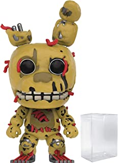 Funko Pop! Games: Five Nights at Freddy's - Springtrap Vinyl Figure (Bundled with Pop Box Protector Case)