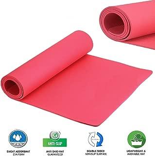 Deep Global 4 MM Yoga Mat High Density, Anti-Slip Yoga mat for Gym Workout and Flooring Exercise Long Yoga Mat for Men & Women Fitness (Multicolor)