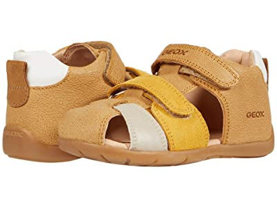 Geox Kids Kaytan 64 (Infant/Toddler) (Ochre Yellow) Girl