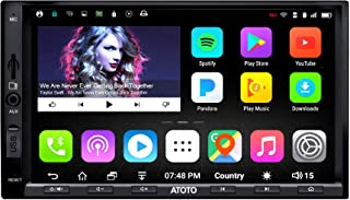 [New] ATOTO A6 Pro A6Y2721PRB 2DIN Android Car Navigation Stereo - Dual Bluetooth w/aptX - Fast Phone Charge/Ultra Preampl...