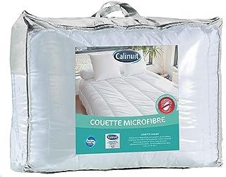CALINUIT Pack Couette Microfibre avec oreillers 60x60 cm (220x240 cm + 2 oreillers)