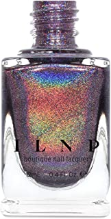 ILNP Charmed - Royal Plum Ultra Holographic Nail Polish, Chip Resistant Manicure, Non-Toxic, Vegan, Cruelty Free, 12ml