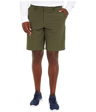 Nike Golf Flat Front Woven Shorts (Cargo Khaki/Anthracite) Men