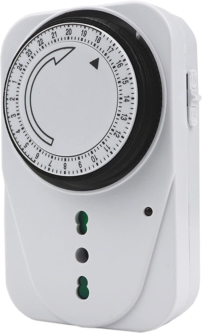 323 opinioni per EXTRASTAR Timer presa elettrica,Programmatore Timer meccanico giornaliero,3680