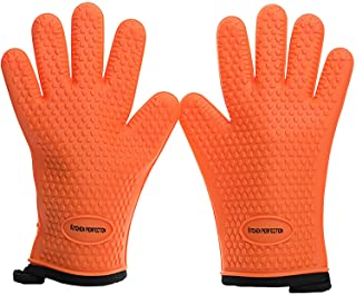Cooking & Grilling Gloves for The Pro Chef|Extreme Cool & Heat Resistant|Oven Mitts for BBQ Smokers and Grillers.Washable ...