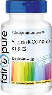 Vitamina K1 y K2 - Complejo