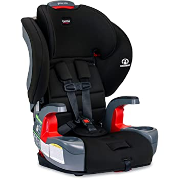 Britax Grow with You Harness-2-Booster Car Seat | 2 Layer Impact Protection - 25 to 120 Pounds, Dusk [New Version of Pioneer]
