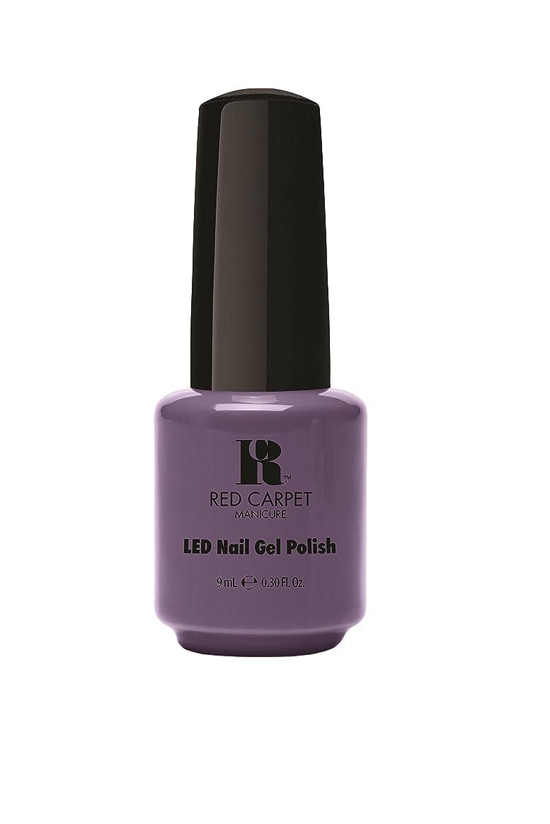 こしょう相互接続切るRed Carpet Manicure - LED Nail Gel Polish - Prim & Proper - 0.3oz/9ml