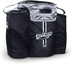 No Errors Coaches Ball Buddy Baseball Coach Bag - Heavy Duty Baseball Equipment Bag for Coaches with Built-in Cooler - Holds 6 Gallon Bucket of Balls and Coaching Equipment