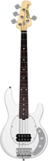 Sterling by Music Man 4 String Bass Guitar، Right، Olympic White (RAYSS4-OWH-R1)