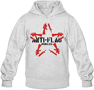 Mens Anti-Flag Punk Rock Band Hooded Pullover Design Sweatshirts