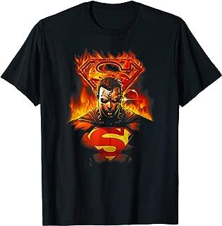 Superman Man on Fire T-Shirt