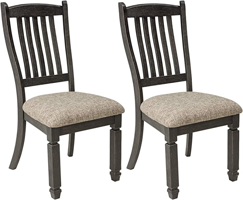 Signature Design By Ashley D736 01 Tyler Creek Dining Chair Antique Black