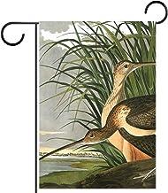 Tuinvlag, Decor Yard Banner Boerderij Outdoor Decoratie Lange Gefactureerde Curlew Dier Retro Verticaal 28x40 Inch