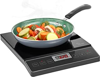 Chef's Star 1800W Portable Induction Cooktop Countertop Burner - 120V / 60Hz - Black
