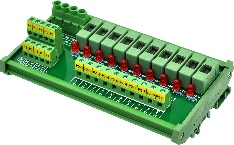 Electronics-Salon DIN Rail Mount Power Position Distribution 10 Super beauty product restock quality top Regular dealer