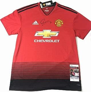 Alexis Sanchez Autographed Signed Manchester United Jersey JSA Chile