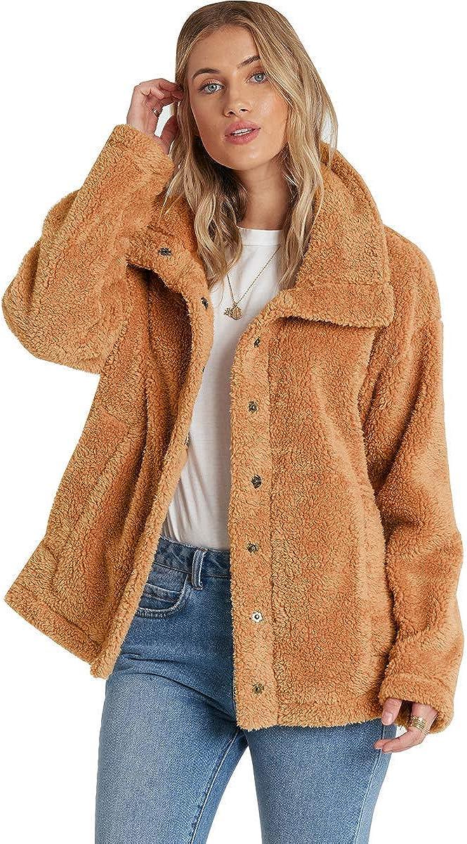 Billabong womens Cozy Days Sherpa Jacket