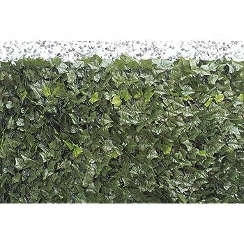 VERDELOOK Sempreverde® Point, Siepe Artificiale 1x3 m, Foglia edera, Decorazioni Giardino