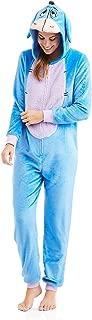 Womens Faux Fur Licensed Sleepwear Adult Costume Union Suit Pajama (XS-3X) Eeyore X-Large