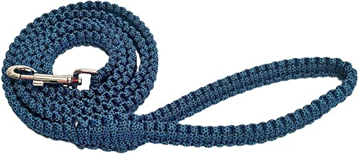 Wag & Fetch Durable & Comfortable Paracord Dog Leash with Strong Metal Clasp