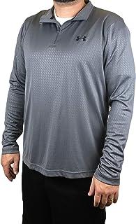Under Armour Men's Velocity Embossed 1/4 Zip Running Track Jacket Shirt (XL)