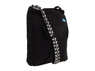 KAVU Sidewinder (Black) Cross Body Handbags