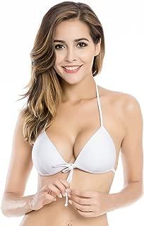 RELLECIGA Women's Push up Triangle Bikini Top