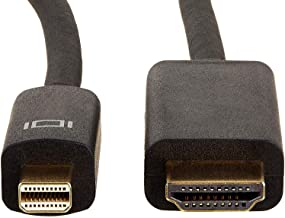 AmazonBasics - Cable adaptador Mini DisplayPort a HDMI (0,9 m)