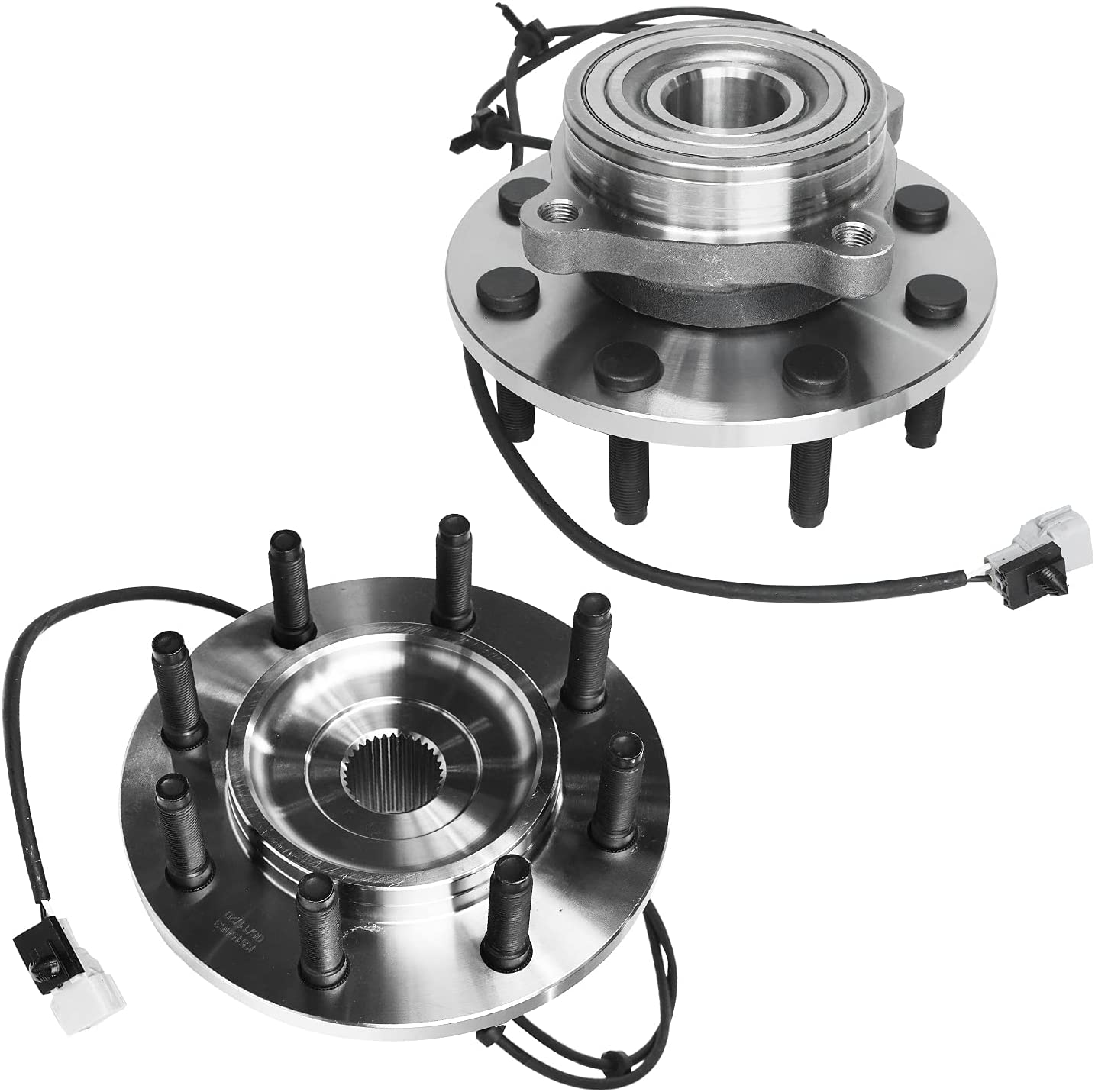 Detroit Axle - 4WD Front New Max 45% OFF color Wheel Bearing Assembly And Replacem Hub