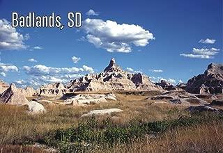 Badlands National Park, South Dakota, Pinnacles, Spires, SD, Souvenir 2 x 3 Fridge Magnet