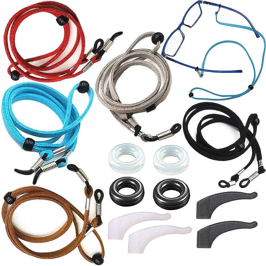 Eyeglasses Holder Strap Cord Chain ECO Retain Leather - Eyeglass Los Angeles Mall Dedication