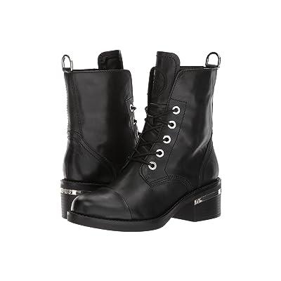 GUESS Fastone (Black Leather) Women