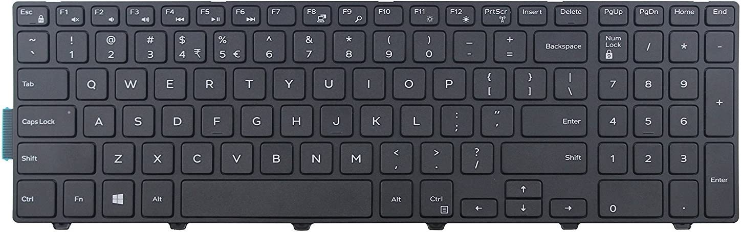 New US Black English Laptop Replacement Latitu for NEW before selling Los Angeles Mall Keyboard Dell