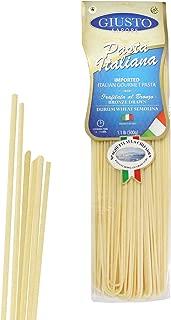 Giusto Sapore Italian Pasta - Spaghetti alla Chitarra 454g - Premium Organic Bronze Drawn Durum Wheat Semolina Gourmet Pasta Brand - Imported from Italy and Family Owned