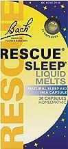 RESCUE Sleep Liquid Melts, Natural Sleep Aid - 28 Capsules