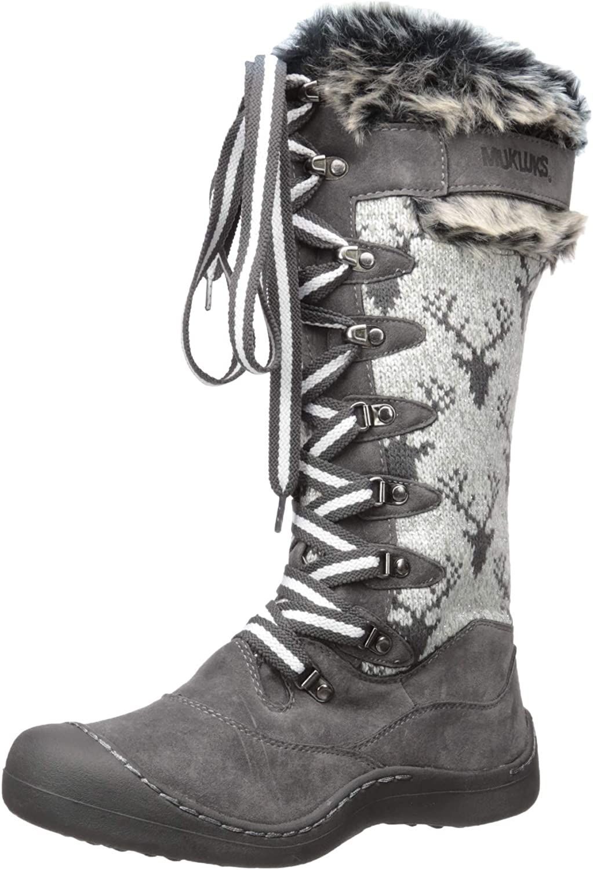 MUK LUKS Women's Gwen Snowboots Snow Shoe