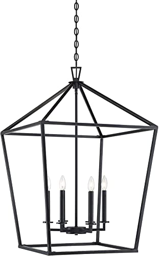 """new arrival Savoy House wholesale 1-322-6-44 Townsend 6-Light Foyer Pendant in a Classic Bronze sale Finish (24"""" W x 36.5"""" H) online"""