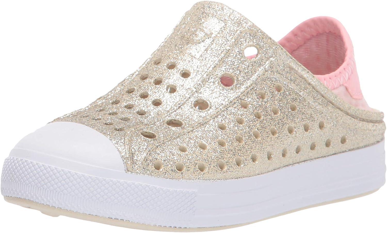 Skechers 70% OFF Outlet Foamies Unisex-Child Low price Steps-Glitter Guzman Mist