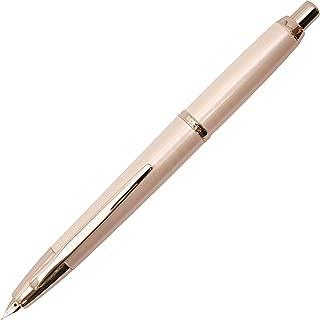 Pilot Fountain Pen Capless Decimo, Pearl White Body, F-Nib