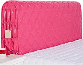 European Simplicity Headboard Cover Bed Slipcover Protector Leather All Red 150x60cm
