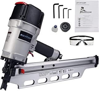 "BHTOP 9021NS Framing Nailer 21 Degree 3-1/2"" with Depth Adjustment (9021 Framing Nailer)"