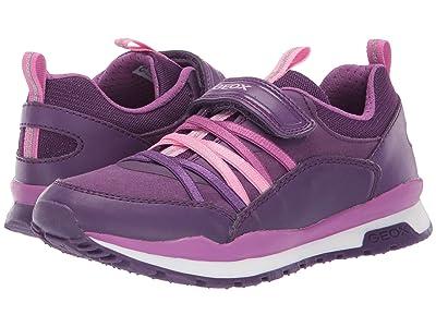 Geox Kids Jr Pavel 6 (Little Kid/Big Kid) (Medium Purple) Girls Shoes