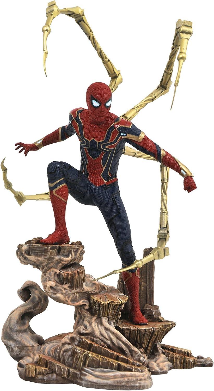 Diamond Select Toys Marvel Gallery  Avengers Infinity War Movie Spiderman PVC Gallery Figure